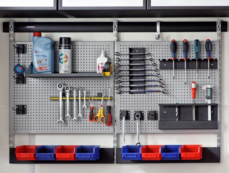Системы хранения для обустройства гаража.